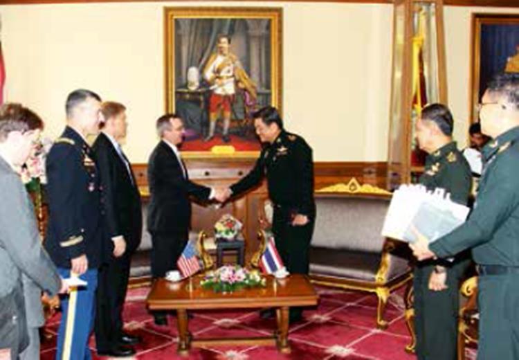 ต้อนรับรองผู้ช่วยรัฐมนตรีว่าการกระทรวงการต่างประเทศ สหรัฐอเมริกา ด้านเอเชียตะวันออกและแปซิฟิก