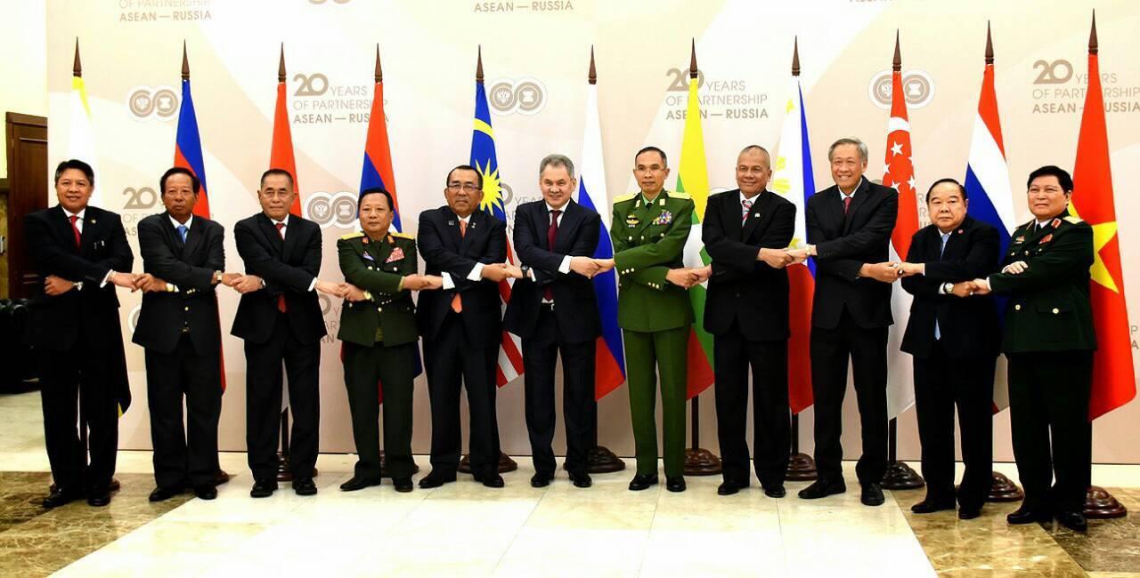 การประชุม รมว.กห.อาเซียน – รัสเซีย อย่างไม่เป็นทางการ