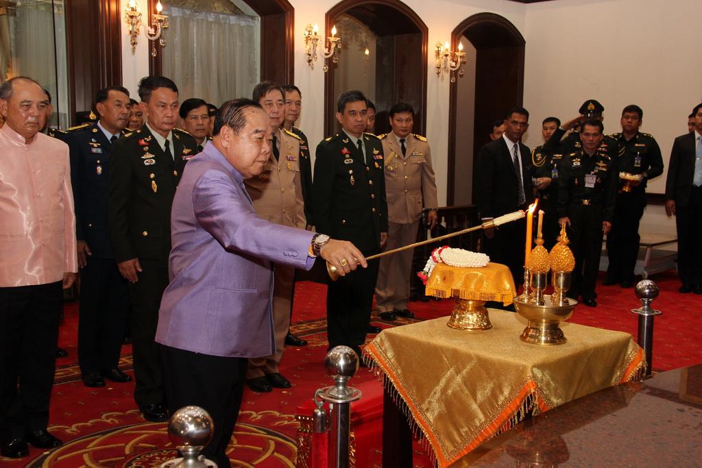 รองนายกรัฐมนตรี/รัฐมนตรีว่าการกระทรวงกลาโหม เป็นประธานในพิธี วันคล้ายวันสถาปนากระทรวงกลาโหม ครบ 129  ปี
