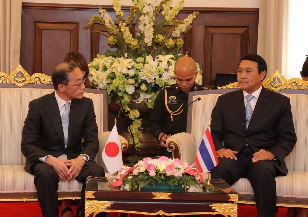 ผช.รมว.กห.ญี่ปุ่น ด้านกิจการต่างประเทศ เข้าเยี่ยมคำนับ รอง นรม. และ รมว.กห.