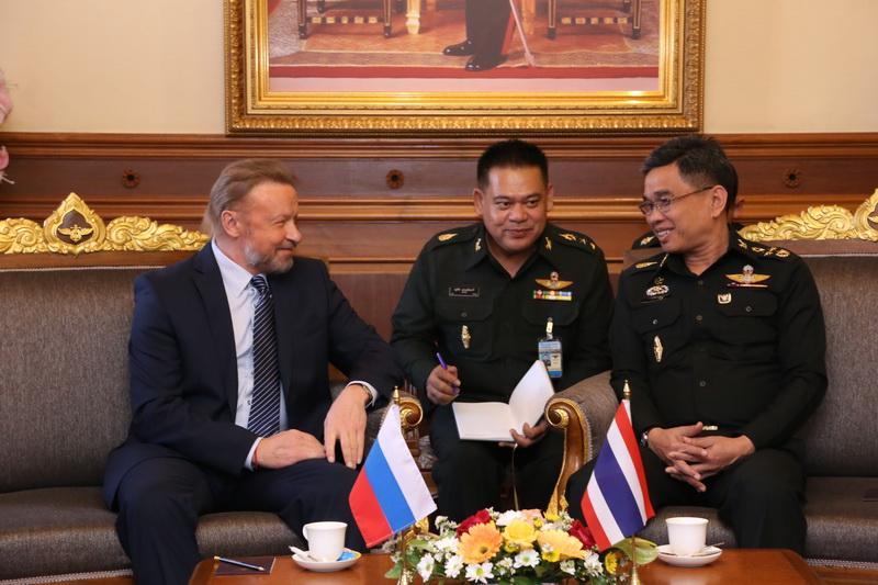 เอกอัครราชทูตสหพันธรัฐรัสเซียประจำประเทศไทย ได้เข้าพบเพื่อแสดงความยินดี