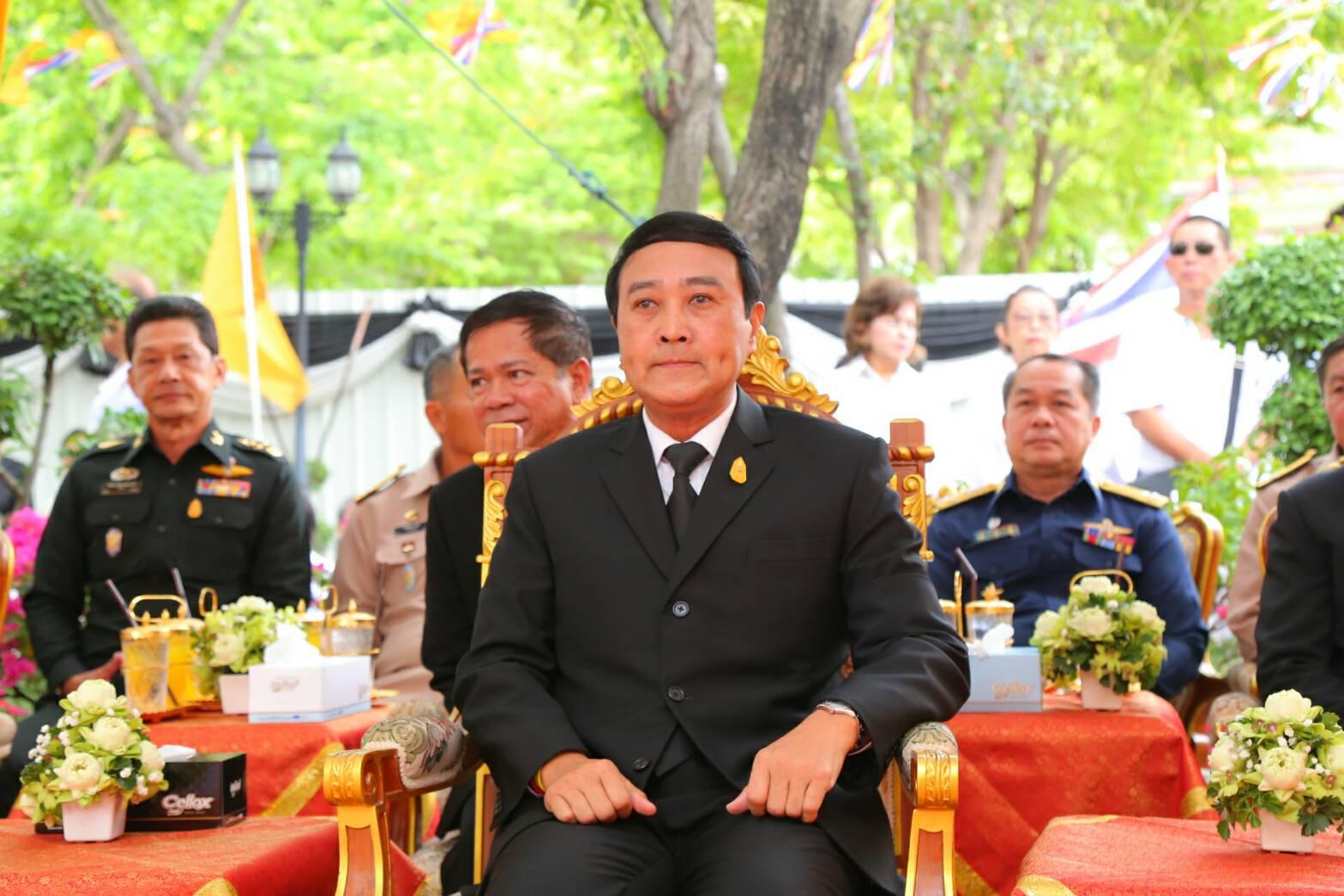 พล.อ.อุดมเดช สีตบุตร รมช.กห. เป็นประธานฝ่ายฆารวาสในพิธีเททองหล่อรูปเหมือนสมเด็จพระพุฒาจารย์ (โต พรหมรังสีมหาเถร)