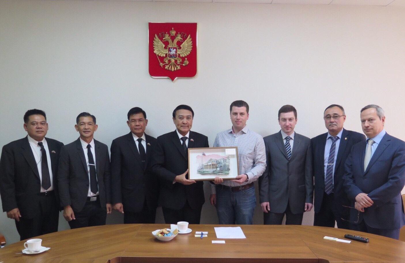 พล.อ. อุดมเดช สีตบุตร รมช.กห. เดินทางเข้าร่วมการประชุมด้านความมั่นคงระหว่างประเทศ Moscow International Security Conference (MISC) ครั้งที่ 6