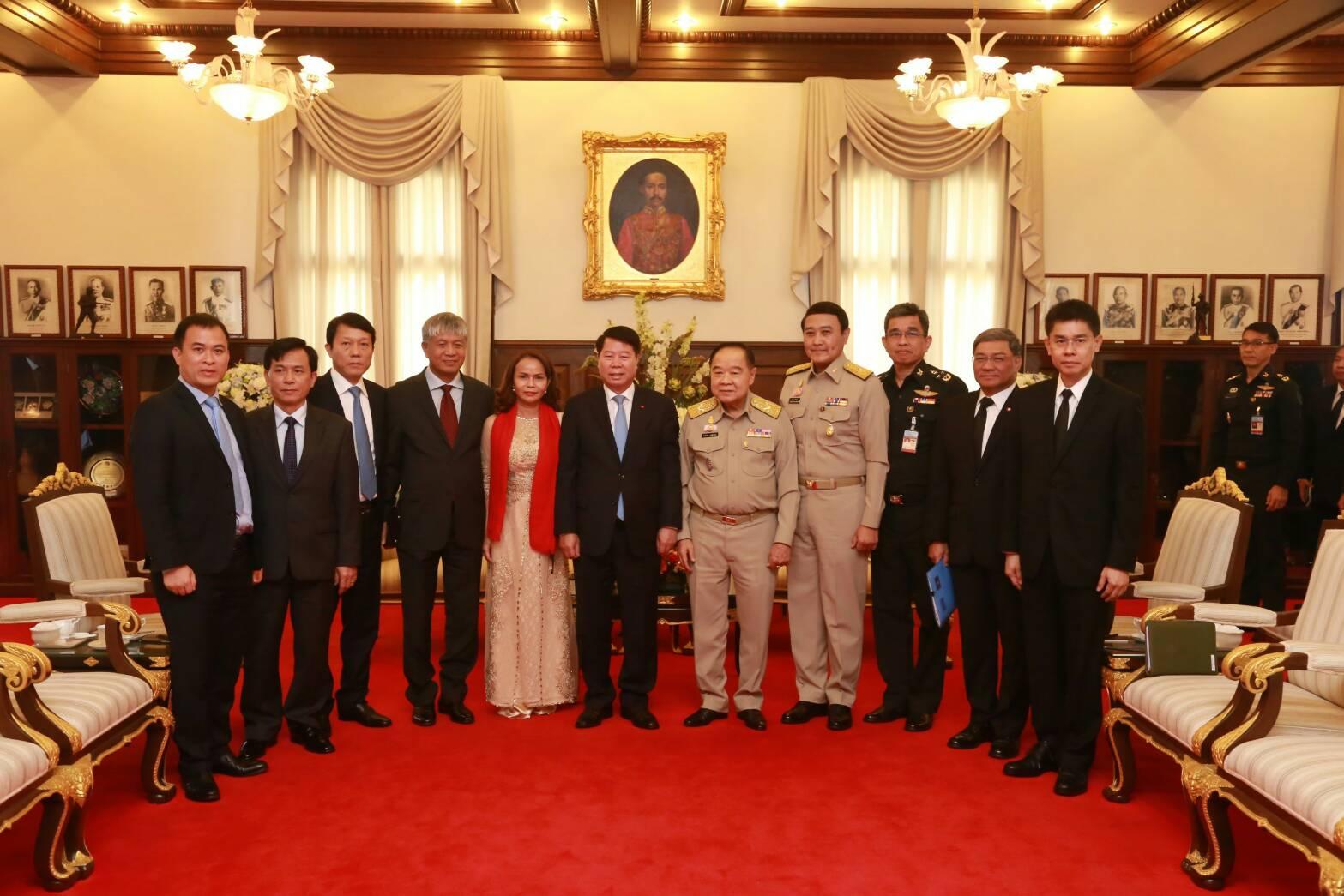 รัฐมนตรีช่วยว่าการกระทรวงความมั่นคงแห่งสาธารณรัฐสังคมนิยมเวียดนาม เข้าเยี่ยมคาราวะ รองนรม.และรมว.กห.