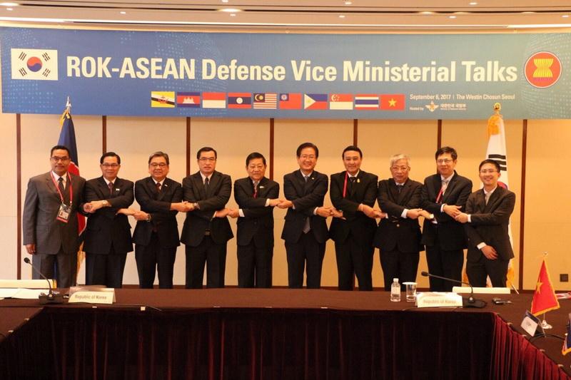 การประชุม Seoul Defense Dialogue ครั้งที่ 6 ณ กรุงโซล สาธารณรัฐเกาหลี (เกาหลีใต้)