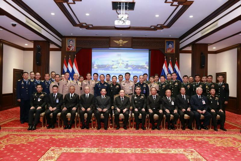 พิธีอำลาและมอบนโยบายแก่คณะนายทหารที่จะเดินทางไปปฏิบัติหน้าที่ผู้ช่วยทูตทหาร  ณ ต่างประเทศ
