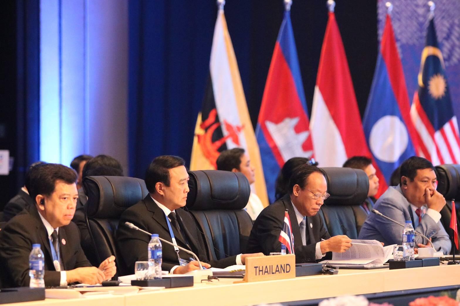 การประชุมครบองค์คณะระดับรัฐมนตรีอาเซียนด้านอาชญากรรมข้ามชาติ (ASEAN Ministerial Meeting on Transnational Crimes) หรือ AMMTC