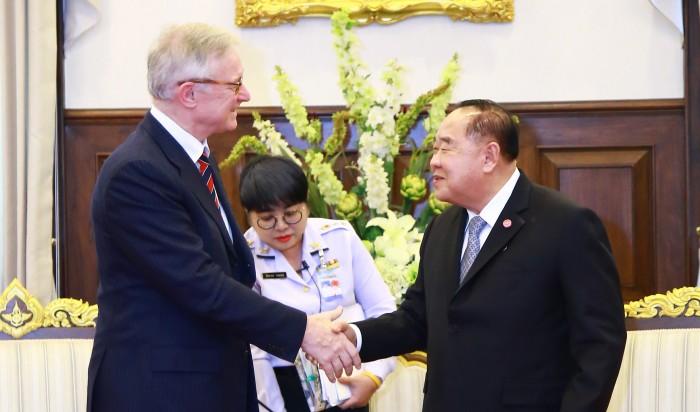 คณะผู้แทนสหภาพยุโรป ย้ำการแก้ปัญหาประมง IUU ของไทยมีความคืบหน้าไปมาก การปรับเปลี่ยนร่วมมือกัน จะเป็นประโยชน์กับประเทศในภาพรวม