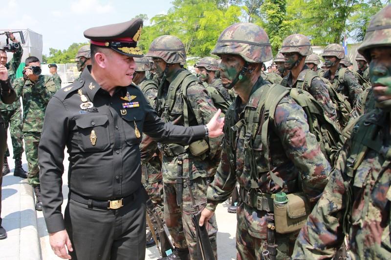 พิธีเปิดการแสดงศักยภาพของกำลังพลสำรอง 3 เหล่าทัพ