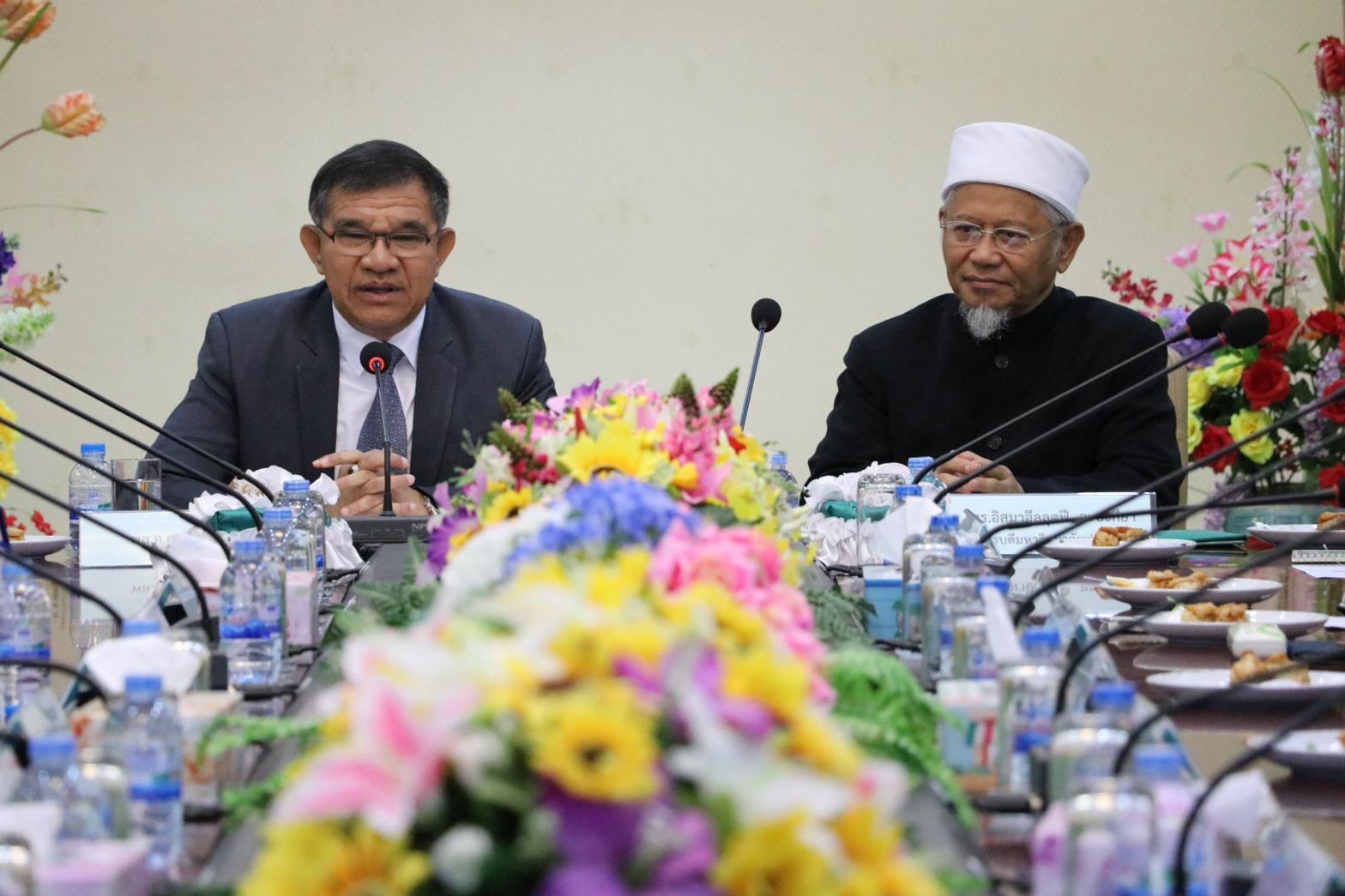 """หัวหน้าผู้แทนพิเศษของรัฐบาล """"เร่งขับเคลื่อนให้เกิดการเรียนรู้ร่วมกัน เพื่อนำไปสู่การอยู่ร่วมกันอย่างสันติสุข""""  ตามนโยบายรัฐบาล"""