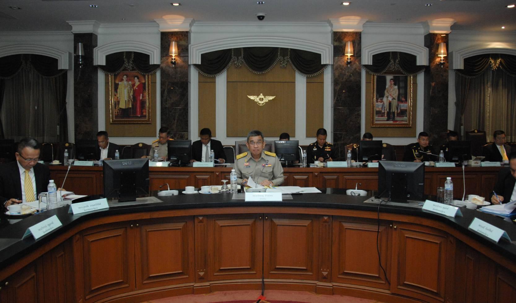 รองหัวหน้าผู้แทนพิเศษของรัฐบาล เป็นประธานการประชุมผู้แทนพิเศษของรัฐบาล ครั้งที่ 6/2561