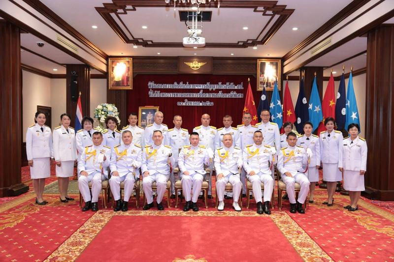 พิธีแสดงความยินดีแก่นายทหารสัญญาบัตร สังกัด สำนักงานปลัดกระทรวงกลาโหม ที่ได้รับพระราชทานยศทหารชั้นนายพลเป็นกรณีพิเศษ
