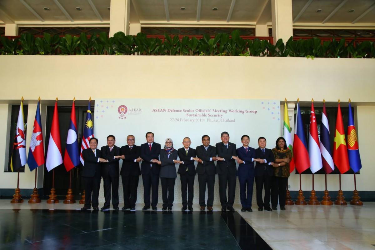 เริ่มแล้ว! ช่วงแรกการประชุมกลาโหมอาเซียน ไทยประชุมคณะทำงานฝ่ายกลาโหมประเทศสมาชิกและคู่เจรจา กำหนดหัวข้อการหารือ