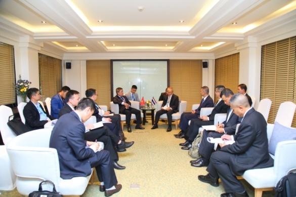 ภาพการประชุมหารือทวิภาคี (Bilateral Meeting) รูปที่ 1